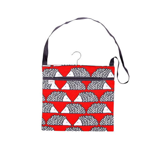 Dexam Scion Wipe Clean Peg Bag - Spike Red