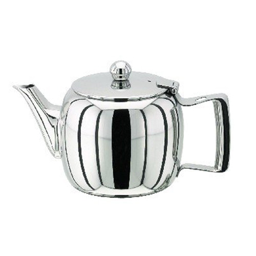 Stellar Traditional Stainless Steel 3 Cup Teapot