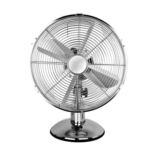 Status 12 inch Desk Fan, Chrome