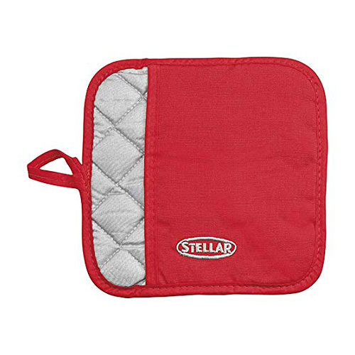 Stellar Pot Holder - Thermal Resistant - STE01Red
