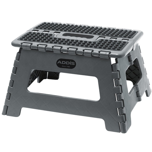 Addis Folding Step Stool - Grey 516931