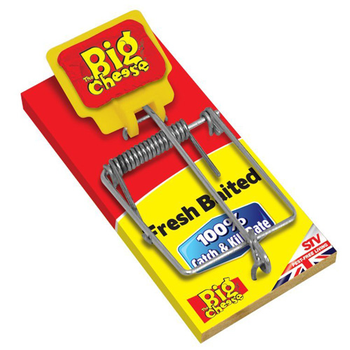 STV Big Cheese Fresh Baited Mouse Trap (STV194)