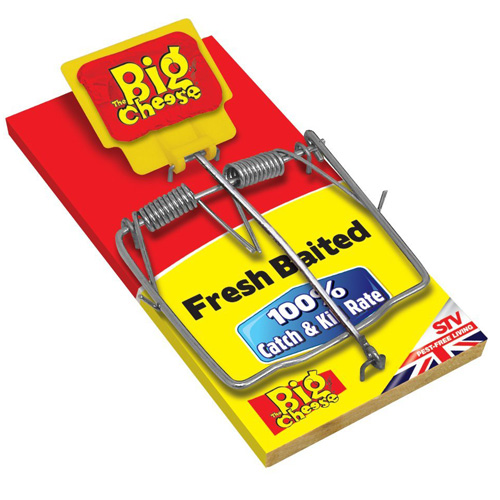 STV Big Cheese Fresh Baited Rat Trap (STV195)
