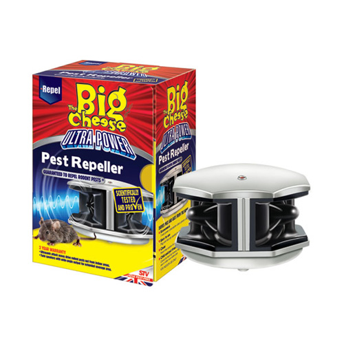 STV Big Cheese Ultra Power Rat and Mouse Pest Repeller -STV725