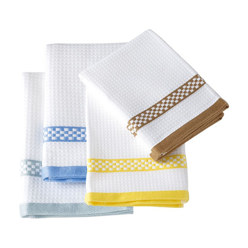 Stow Green Single Kitchen Tea Towel - Assorted Colours - Waffle Weave