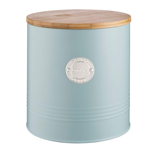 Typhoon Living Cookie Storage Canister - 3.4 litre Blue