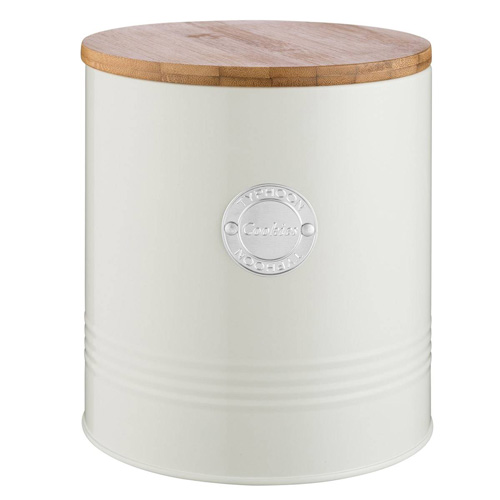 Typhoon Living Cookie Storage Canister - 3.4 litre Cream
