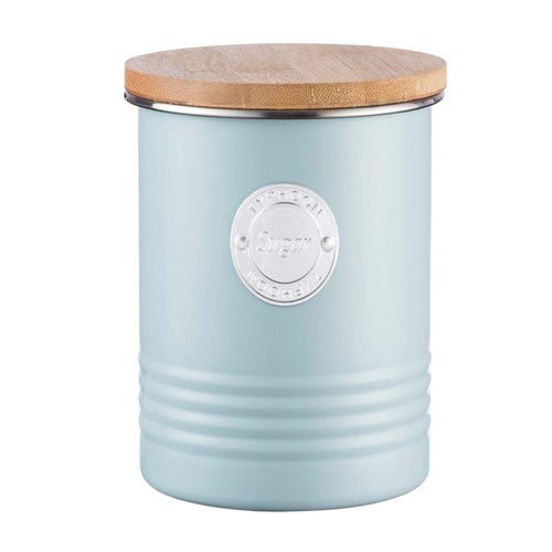 Typhoon Living Sugar Canister - 1 litre Blue