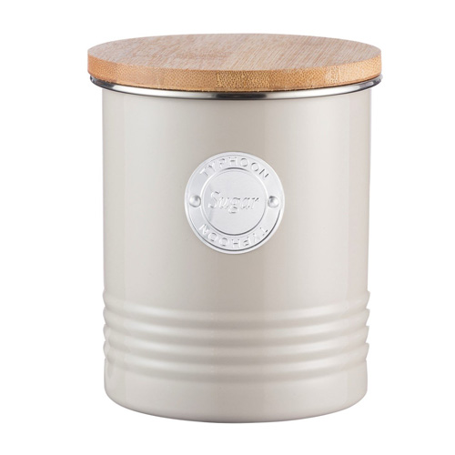 Typhoon Living Sugar Canister - 1 litre Putty