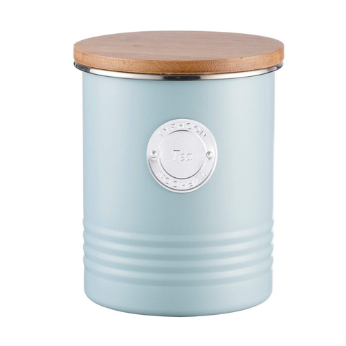 Typhoon Living Tea Canister - 1 litre Blue