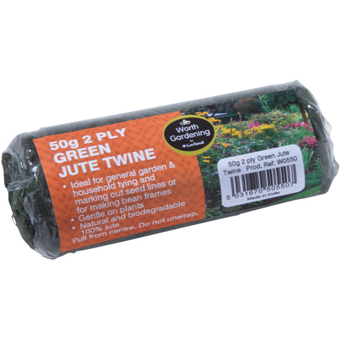 Worth Gardening Green Jute Twine 50g