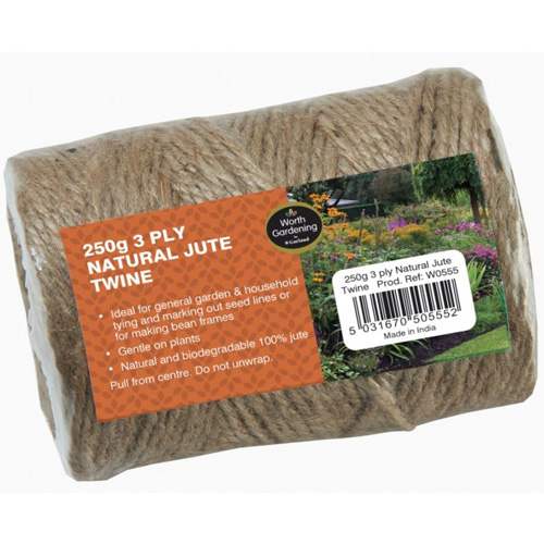 Worth Gardening Natural Jute Twine 250g