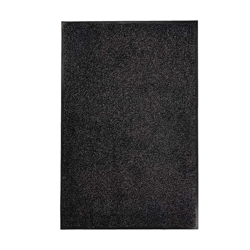 Likewise Matting Washamat Doormat 90 x 60 - Black