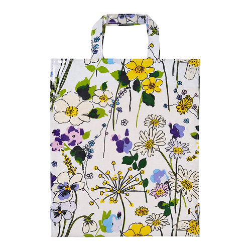 Ulster Weavers Shopping Bag - PVC - Wildflower- Med with Gusset