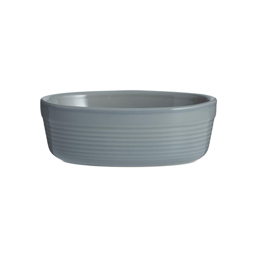 Mason Cash Oval Pie Dish 17cm - William Mason Collection - Grey