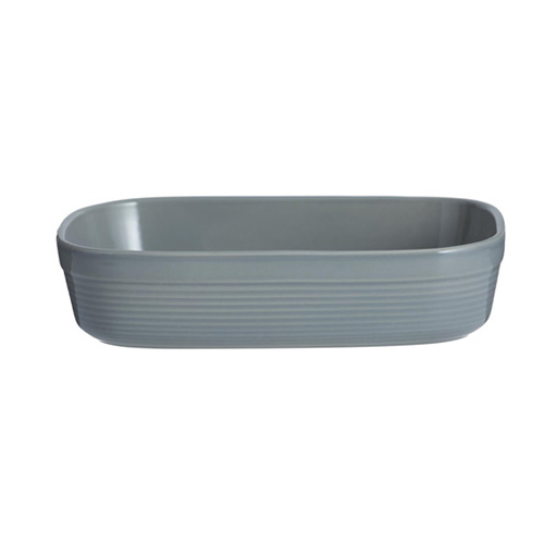 Mason Cash Rectangular Dish 24cm - William Mason Collection - Grey