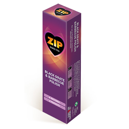 Zip Black Grate and BBQ Polish 75ml