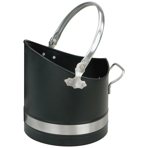 Manor Coal Bucket Hod Black & Pewter - Warwick Helmet