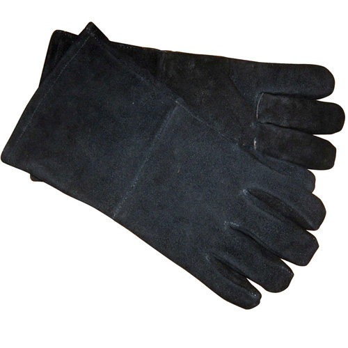 Manor Fire Retardant Gloves - Leather Heat Resistant Gauntlets