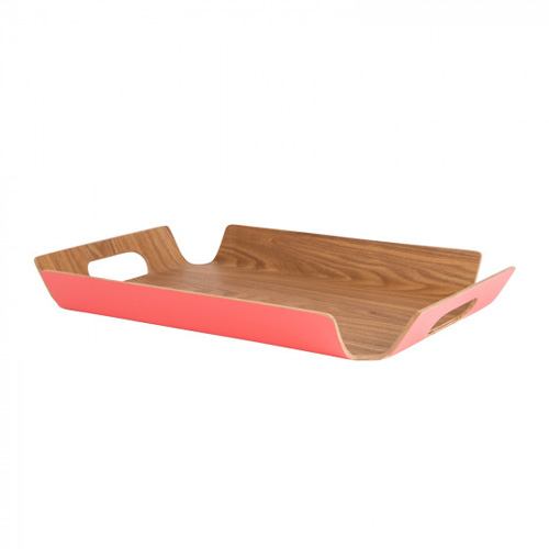 Navigate Summerhouse Willow Tray Medium Coral